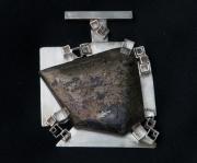 Pyrite & Silver Pendant