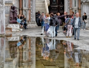 Puddle In Piazza San Marco