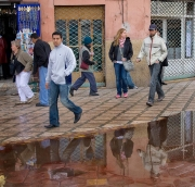 Puddle In Marrakech